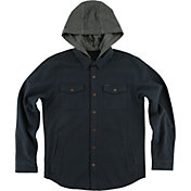 O'Neill Men's Flatts Hooded Long Sleeve Shirt