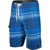 O'Neill Men's Santa Cruz Plaid Board Shorts