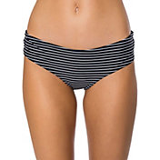 O'Neill Women's Bi-Coastal Reversible Hipster Bikini Bottoms