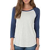 O'Neill Women's Copper 3/4 Sleeve Raglan T-Shirt