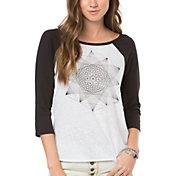 O'Neill Women's Geo Star 3/4 Sleeve Raglan T-Shirt