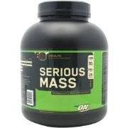 Optimum Nutrition Serious Mass Protein Powder Chocolate 6 lbs