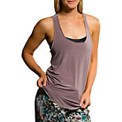 Onzie Women's Champagne Glossy Flow Tank Top