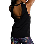 Onzie Women's Black Keyhole Tank Top