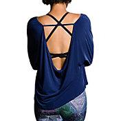 Onzie Women's Scoop Back Long Sleeve Shirt
