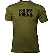 Oscar Mike Men's Dog Tag Logo T-Shirt