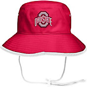 OSU Men's Ohio State Buckeyes Scarlet Drawstring Bucket Hat
