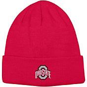 OSU Men's Ohio State Buckeyes Scarlet Overtime Cuffed Knit Beanie
