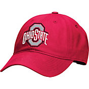 OSU Men's Ohio State Buckeyes Scarlet Wide Out Prime Adjustable Hat