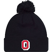 OSU Men's Ohio State Buckeyes The Coach Woody Black Knit Beanie