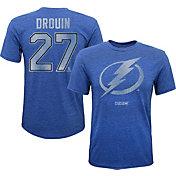 CCM Youth Tampa Bay Lightning Jonathan Drouin #27 Replica Royal Player T-Shirt