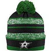 Old Time Hockey Men's Dallas Stars Clay Green Cuffed Knit Hat