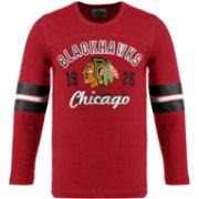 Old Time Hockey Youth Chicago Blackhawks Dax Red Long Sleeve T-Shirt