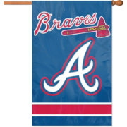 Party Animal Atlanta Braves Applique Banner Flag