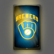 Party Animal Milwaukee Brewers MotiGlow Light Up Sign