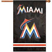Party Animal Miami Marlins Applique Banner Flag