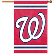 Party Animal Washington Nationals Applique Banner Flag