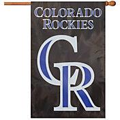 Party Animal Colorado Rockies Applique Banner Flag