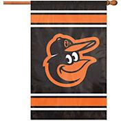 Baltimore Orioles Applique Banner Flag
