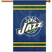 Party Animal Utah Jazz Applique Banner Flag