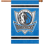 Party Animal Dallas Mavericks Applique Banner Flag