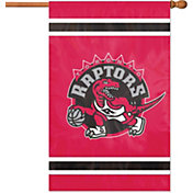 Party Animal Toronto Raptors Applique Banner Flag