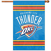 Party Animal Oklahoma City Thunder Applique Banner Flag