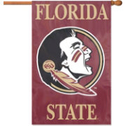 Florida State Seminoles Applique Banner Flag