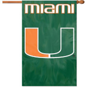 Party Animal Miami Hurricanes House Flag