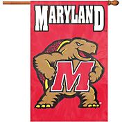 Party Animal Maryland Terrapins Applique Banner Flag