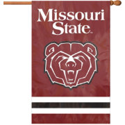 Party Animal Missouri State Bears House Flag