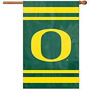 Party Animal Oregon Ducks Applique Banner Flag