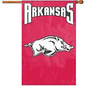 Party Animal Arkansas Razorbacks Applique Banner Flag