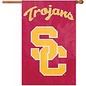 Party Animal USC Trojans Applique Banner Flag