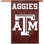 Party Animal Texas A&M Aggies Applique Banner Flag