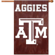 Party Animal Texas A&M Aggies Applique Banner Flag