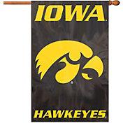 Party Animal Iowa Hawkeyes Applique Banner Flag