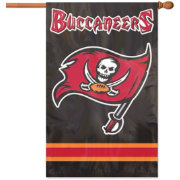 Party Animal Tampa Bay Buccaneers Applique Banner Flag