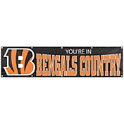 Party Animal Cincinnati Bengals Giant 8' x 2' Banner
