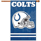 Party Animal Indianapolis Colts Applique Banner Flag