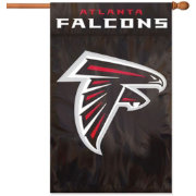 Party Animal Atlanta Falcons Applique Banner Flag