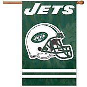 Party Animal New York Jets Applique Banner Flag