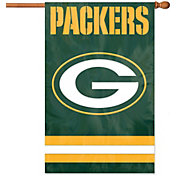 Party Animal Green Bay Packers Applique Banner Flag