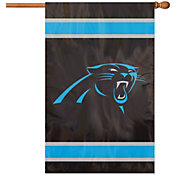Party Animal Carolina Panthers Applique Banner Flag