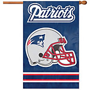 Party Animal New England Patriots Applique Banner Flag