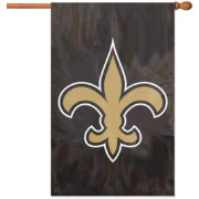 Party Animal New Orleans Saints Applique Banner Flag