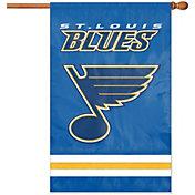 Party Animal St. Louis Blues Applique Banner Flag
