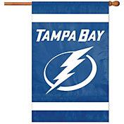 Party Animal Tampa Bay Lightning Applique Banner Flag