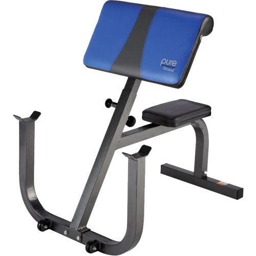 Pure Fitness Preacher Curl Weight Bench by Pure Fitness