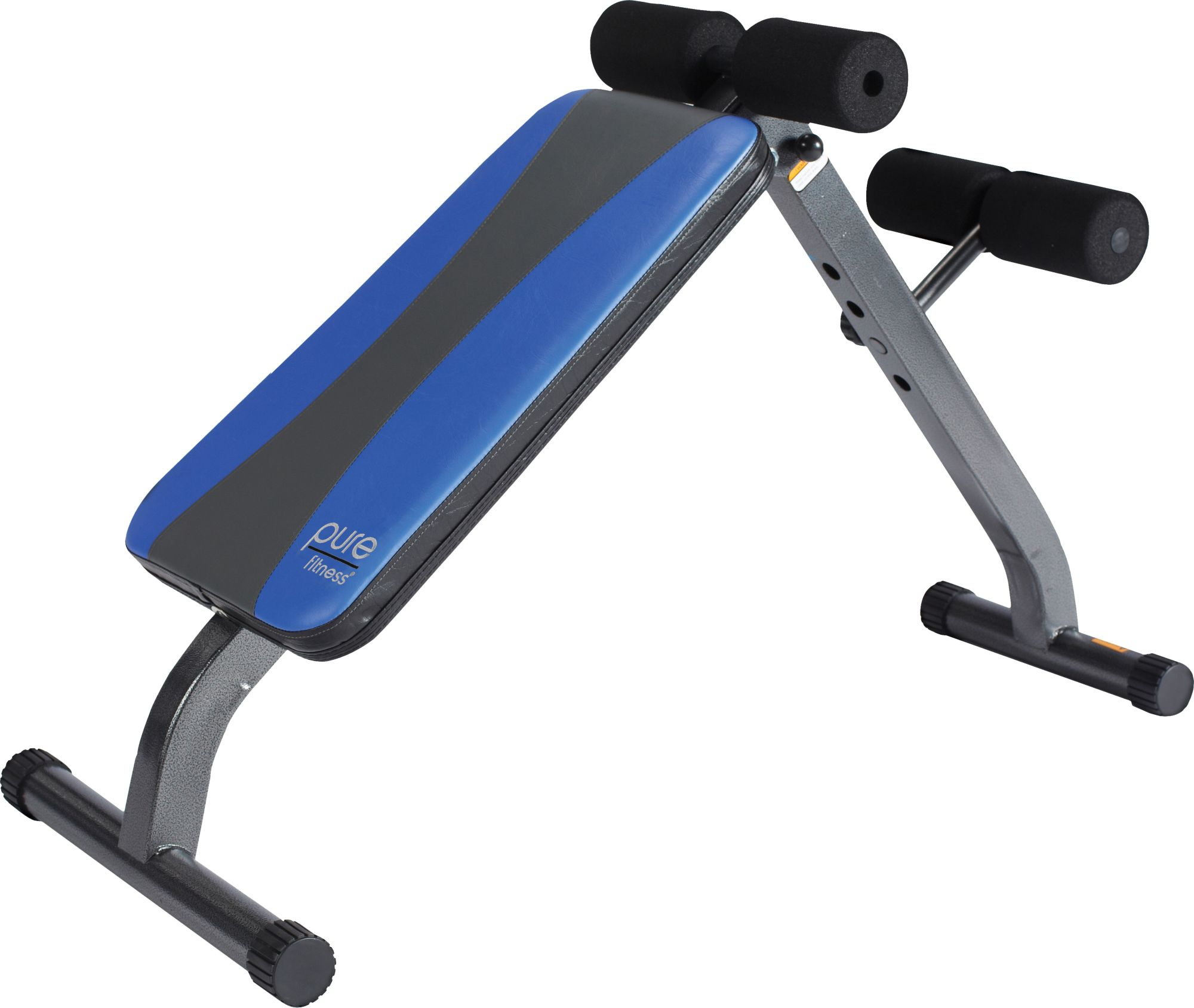 Pure Fitness Ab Crunch Sit Up Weight Bench by Pure Fitness